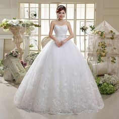 Find More Wedding Dresses Information about 2015 new hot sale simple sexy backless  beach  sweetheart  Bra lace plus size white beading wedding dress strapless,High Quality dress lace up,China lace sheath wedding dress Suppliers, Cheap dresses with lace from Playful beauty department store on Aliexpress.com