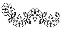 Border Stencils for Your Quilts at Pumpkinvine Corner
