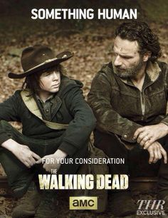 Rick and Carl Grimes ~ Emmy Consideration Poster ~ The Walking Dead