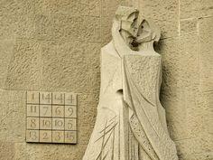 Passion by Josep Subirachs at the  Basílica de la Sagrada Família, photo by DaveKav