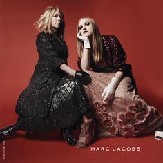 Kim Gordon & Coco • Marc Jacobs Fall '15 campaign photographed by David Sims