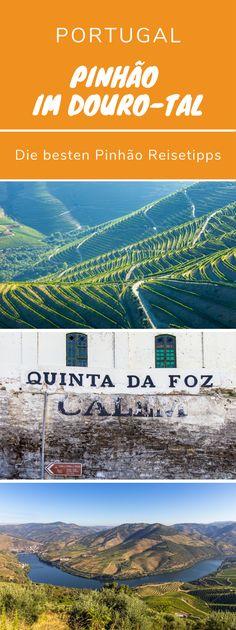 Pinhão dient als idealer Ausgangspunkt und Basis für die Entdeckung des Douro-Tals. Die besten Tipps für deine Reise. Im malerischen Dour-Tal liegt die Heimat des portugiesischen Portweins, das Portwein Anbaugebiet Alto Douro. Die besten Reisetipps für Pinhaão ob mit Wohnmobil, als Backpacker oder individual Reisender. Highlight in Portugal. Pinhão auf eigene Faust #Weinprobe #Quinta #Reisetipp #Reiseführer #Portugal #Urlaub #Camper #Wohnmobil #Douro #Dourotal #DouroValley #Aussichtspunkte