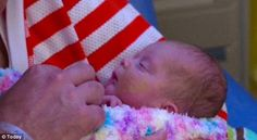 Diagnosed with Potter Sequence in the womb Tiny Abigail Rose is believed to be the first to survive after birth. thriving!  'Thriving': Tiny Abigail, who was born weighing just over 2lb, is making good progress.