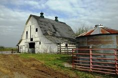 The Farm♥♥ - similar to the barn of my childhood