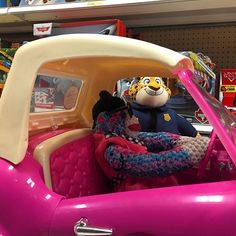 bethany.la.mona:: Got pulled over by #officerclawhauser in the toy lane. He let me off the hook and I called him a huge #pussy. () #dui #sockmonkey #crochet #amigurumi #bendoverbethany #dontdrinkanddrive #safetyfirst