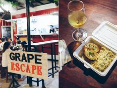 Grape Escape, StrEat, Maginhawa Food Park, Philippines Food, Food Trip, Manila, Places To Eat, Cooking Tips, Everything, Foodies, Destinations