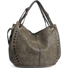 JOYSON Women Bags Tote Shoulder Handbags Hobo PU Leather Purse Bags Large  Capacity Black 917f9e140a86e
