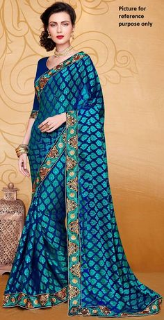 Embroidered Georgette Saree #KAL 507