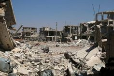 Air strikes pound southwest Syrian city of Deraa