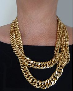Gold Twist Chain Necklace - JewelMint