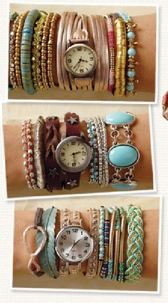 Arm Candy - Jewelry, Watches & Bracelets at Cost Plus World Market >> #WorldMarket Fashion