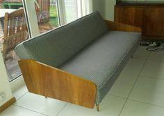 Sofa, kanapa, wersalka PRL, loft, vintage, retro,