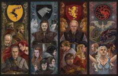 Game of Thrones Artwork Dessin Game Of Thrones, Arte Game Of Thrones, Game Of Thrones Artwork, Game Of Thrones Poster, Game Of Thrones Books, Game Of Thrones Cast, Game Of Thrones Houses, Jon E Daenerys, Game Of Throne Daenerys