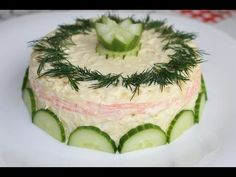 Французский салат (French salad) - YouTube