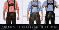 Lederhosen & dirndl for sale. We carry German lederhosen, dirndls, German costumes and Oktoberfest costumes for your next Oktoberfest party.