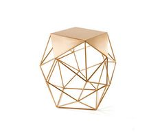 Archimedes Bronze Limited Edition Large Side Table by Matthew Shively | Architonic