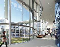 Edward P. Evans Hall, Yale School of Management, New Haven, CT - Foster + Partners
