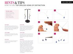 Follow this step by step tutorial for how to use top drilled gems of distinction. Shop gems of distinction here: http://www.jewellerymaker.com/en-gb/gems-of-distinction/
