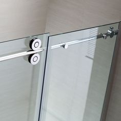 Shop OVE Decors Sydney 56-in to 58-in W x 78.7-in H Frameless Sliding Shower Door at Lowes.com