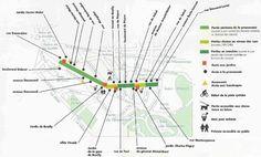 Promenade Plantée Map