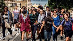 Alunos da Universidade Minerva, em São Francisco