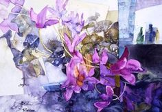 Shirley Trevena - How could you not love the color purple