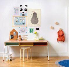 kids desk ✭ room inspiration