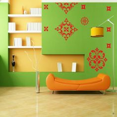 Inspire your #décor with #graceful & minutely detailed #walldecals.