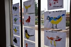 Groep Thema vogels in de .nl - Vogels in de lucht Thema lente kleuters Winter Crafts For Toddlers, Green Crafts For Kids, Winter Kids, Winter Art, Winter Colors, Christmas Crafts For Kids, Toddler Crafts, Diy For Kids, Winter Thema