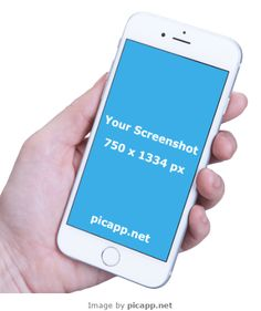 Put your screenshot app in this iPhone 6 in hand easy and fast with Picapp.net…