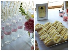 mother daughter tea party food couture parties blog