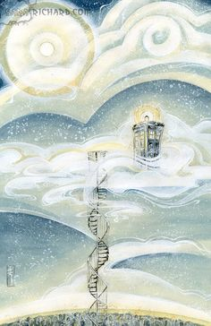 The Doctor's Cloud by *SaraRichard     It's like a treehouse but even more awesome.