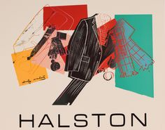 Andy Warhol,  Poster (Halston Advertising Campaign: Men's Wear), 1982