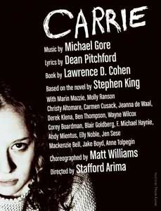 """EXCITING! Live theatrical rights to """"Carrie"""" to be released soon"""