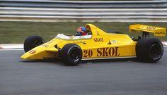 Fittipaldi 1980 | Emerson Fittipaldi Fittipaldi F8 Ford Cosworth F1 1980 British GP ...