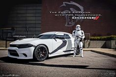 Dodge Charger Hellcat Star Wars Storm Trooper Edition