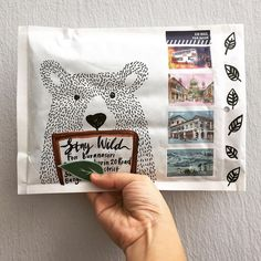 Mail Art Envelopes, Addressing Envelopes, Envelope Lettering, Envelope Art, Pen Pal Letters, Letter Art, Snail Mail Pen Pals, Pretty Letters, Mail Gifts