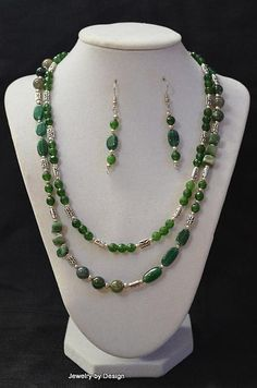 Green Emerald double stranded