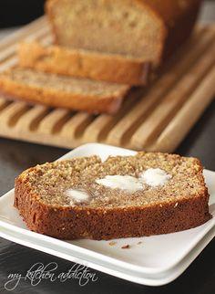 Whole Wheat Buttermilk Banana Bread @Jen Schall