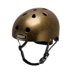 Nutcase 2013 Street Super Solid Multisport Helmet - Gold Sparkle - NTG2-3014S #showstopper #gold #dubstepcycling #criticalmass #hipster #goldallinmychain #gangsta