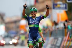 Il Lombardia - Elite Men Winner Estiban Chavez Col...OBE ... So pleased for one of my favourites...final tour of UCI 2016