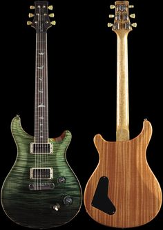 PRS Wood Library Ted McCarty DC 245 Trampas Fade Korina Neck (605)