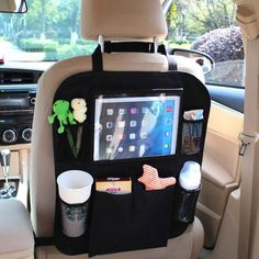 This unique gift is the best car organizer to keep your children's junk neatly tucked away in your car so that you can enjoy a clean car. Not only does it have