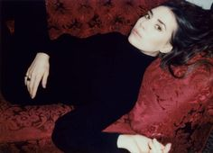 Lykke Li . Black turtleneck