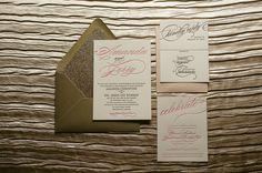 Beautiful, Affordable Letterpress Wedding Invitations - MODwedding