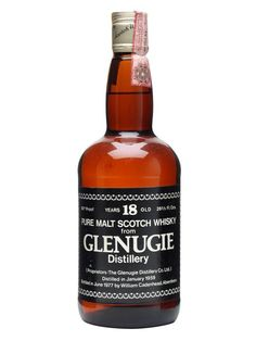Glenugie 1959 / 18 Year Old / 46% / 75cl / Cadenhead's : Buy Online - The Whisky Exchange - A 1959 vintage whisky from Glenugie, closed since 1983, bottled at 18 years of age in the late 1970s by Cadenhead's.
