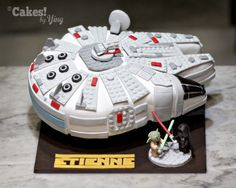 Image result for millennial falcon star wars cake
