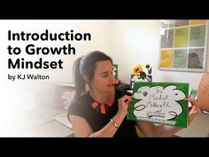 In this video we are introduced to the face behind 'Growth Mindset by KJ Walton'. KJ presents a run down of the theory as established by Prof. Growth Mindset, Our Life, Behavior, Insight, Encouragement, Passion, Messages, Education, Words