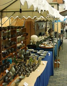 Kyoto pottery market--Will have to go