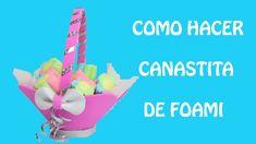 Como hacer dulcero o centro de mesa de canastita de foami Happy Day, Painted Rocks, Easter, Diy Crafts, Color Plata, Color Rosa, Rock Painting, Cactus, Pokemon